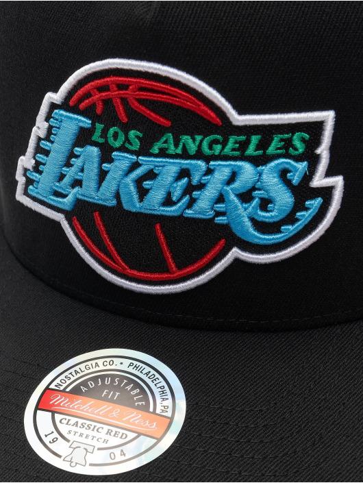 Mitchell & Ness Snapback Cap RGB Stretch Los Angeles Lakers schwarz