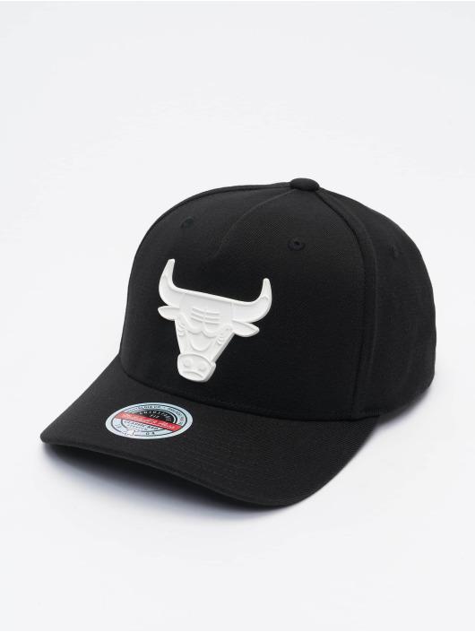 Mitchell & Ness Snapback Cap Casper Redline Chicago Bulls schwarz