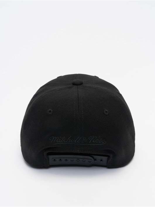 Mitchell & Ness Snapback Cap Black Out Arch Redline Los Angeles Lakers schwarz