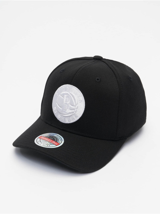 Mitchell & Ness Snapback Cap Duotone Redline Brooklyn Nets schwarz