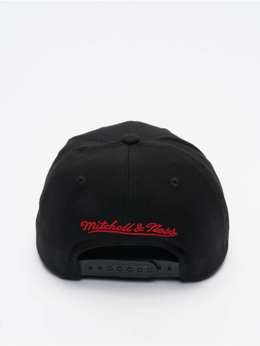 Mitchell & Ness Snapback Cap Duotone Redline Chicago Bulls schwarz
