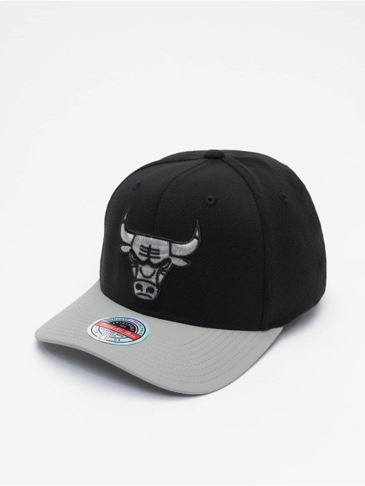 Mitchell & Ness Snapback Cap Shadow Redline Chicago Bulls schwarz