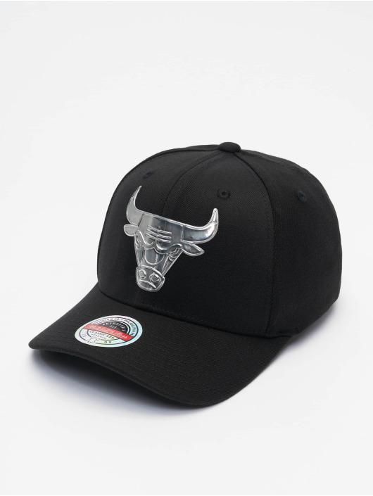 Mitchell & Ness Snapback Cap Cyber Redline Chicago Bulls schwarz