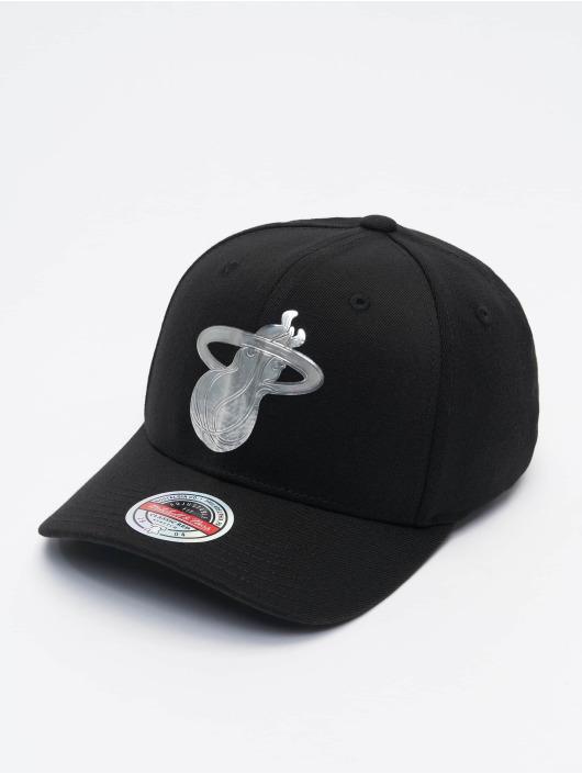 Mitchell & Ness Snapback Cap Cyber Redline Miami Heat schwarz