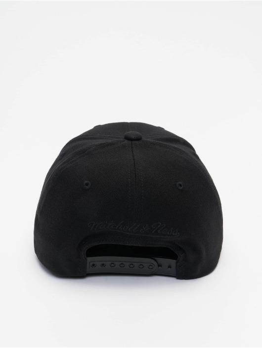 Mitchell & Ness Snapback Cap Pinscript Redline Branded schwarz