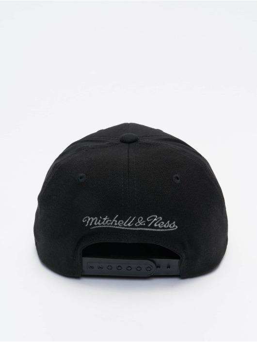 Mitchell & Ness Snapback Cap Shadow Redline schwarz
