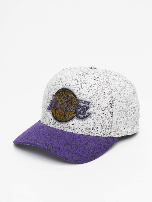 Mitchell & Ness snapback cap No Rest La Lakers wit