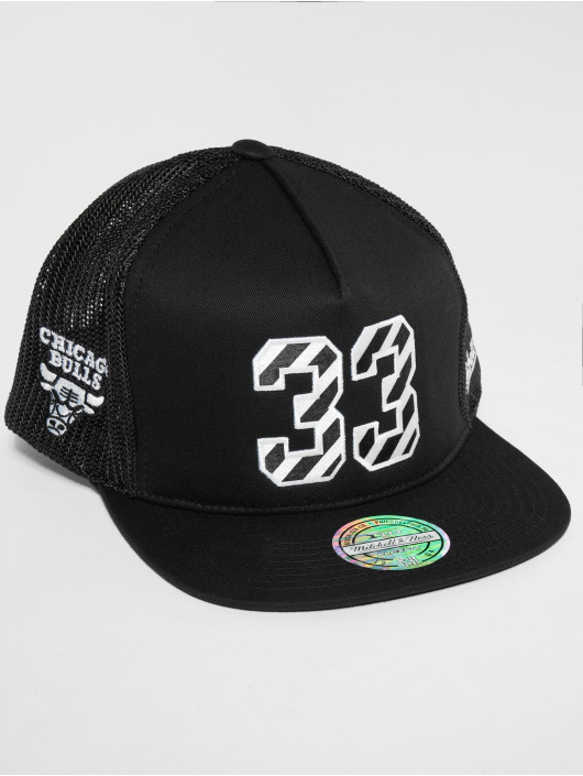 Mitchell & Ness snapback cap HWC Chicago Bulls N&N 110 zwart
