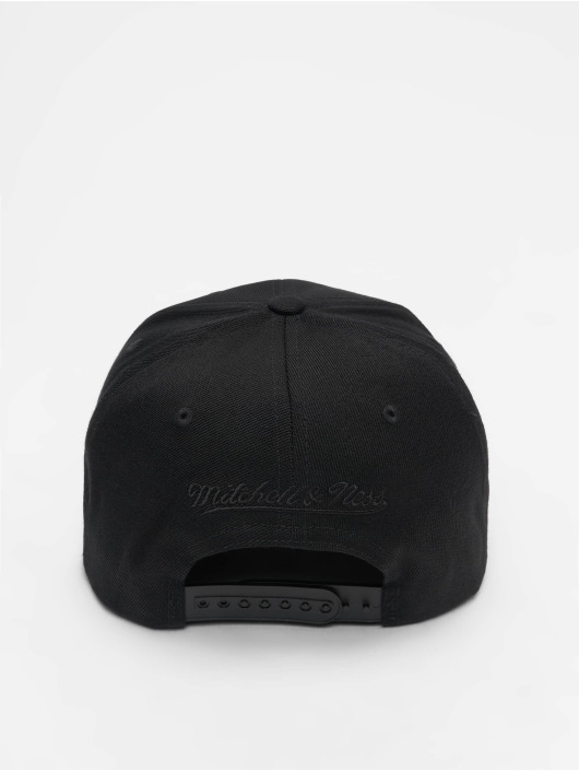 Mitchell & Ness snapback cap NBA LA Lakers 110 Black On Black zwart