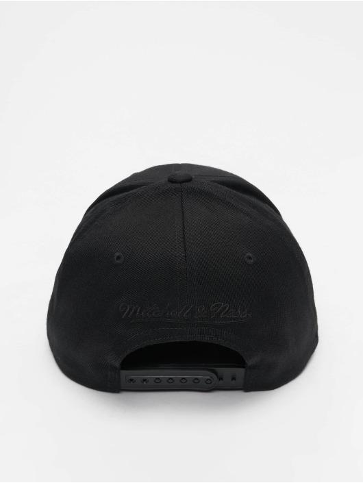 Mitchell & Ness snapback cap NBA Toronto Raptors 110 Black On Black zwart