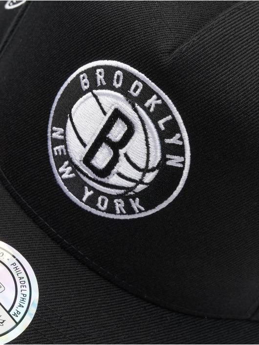 Mitchell & Ness snapback cap NBA Brooklyn Nets 110 zwart
