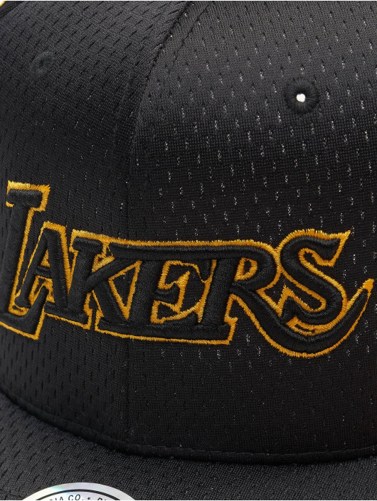 Mitchell & Ness snapback cap Series La Lakers zwart