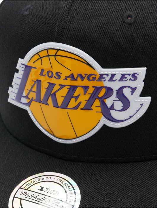 Mitchell & Ness snapback cap Chrome Logo La Lakers zwart