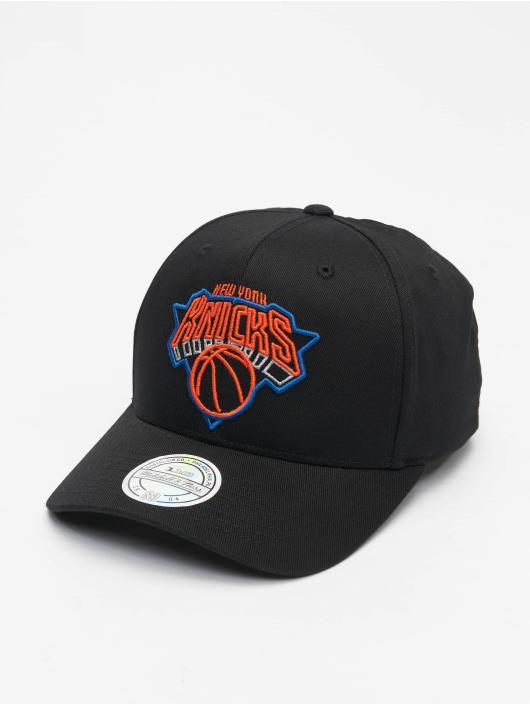 Mitchell & Ness snapback cap NBA New York Knicks Neon Lights zwart