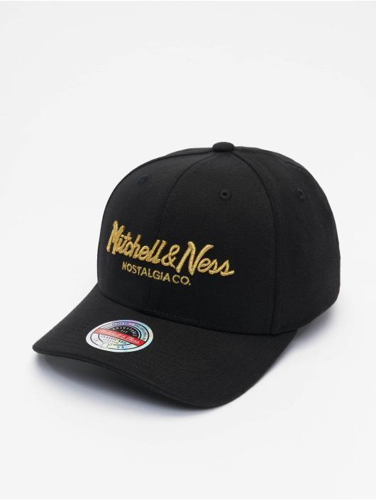 Mitchell & Ness snapback cap Pinscript Redline Branded zwart