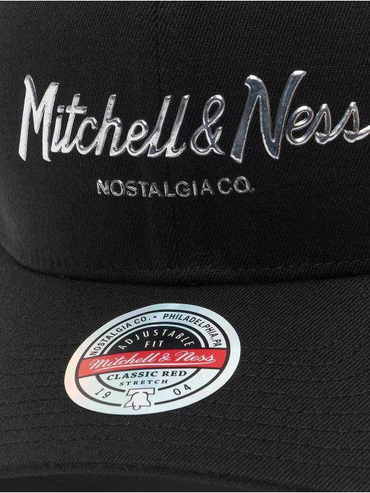 Mitchell & Ness snapback cap Cyber Redline zwart