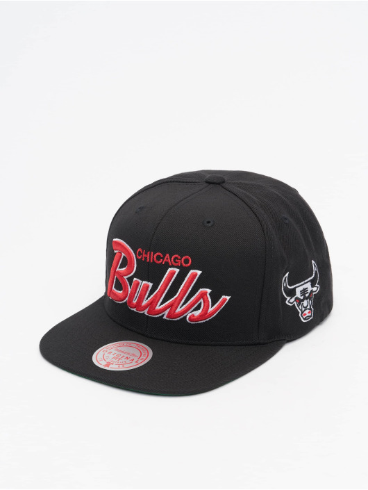 Mitchell & Ness snapback cap Foundation Script HWC Chicago Bulls zwart