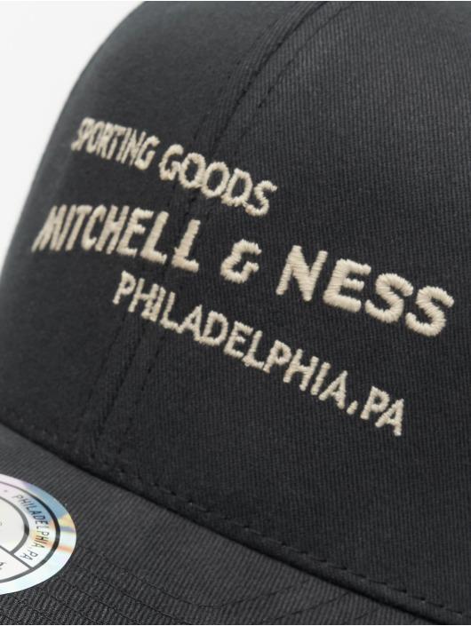 Mitchell & Ness Snapback Caps Sporting Goods čern