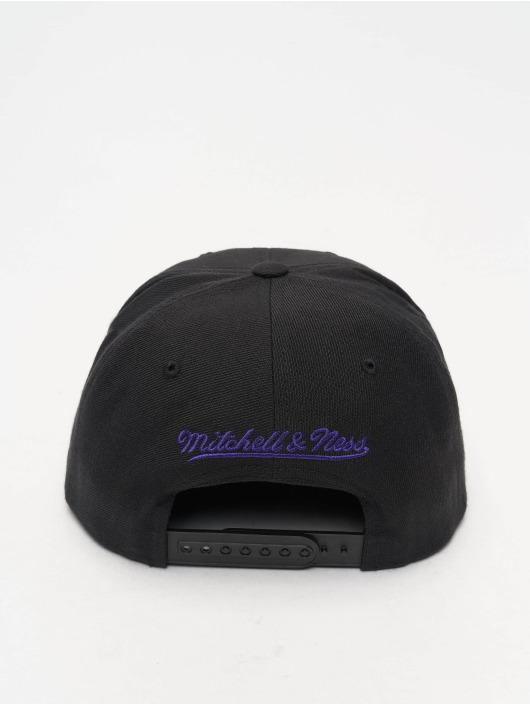 Mitchell & Ness Snapback Caps NBA Wool Solid čern