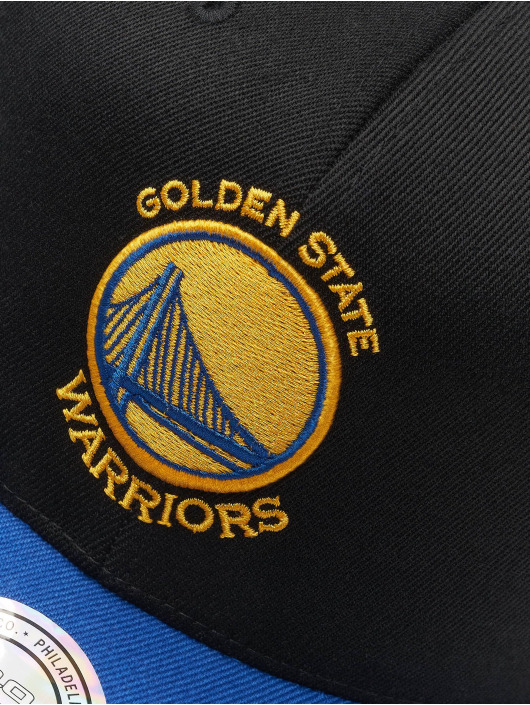 Mitchell & Ness Snapback Caps NBA Golden State Warriors 110 2 Tone čern