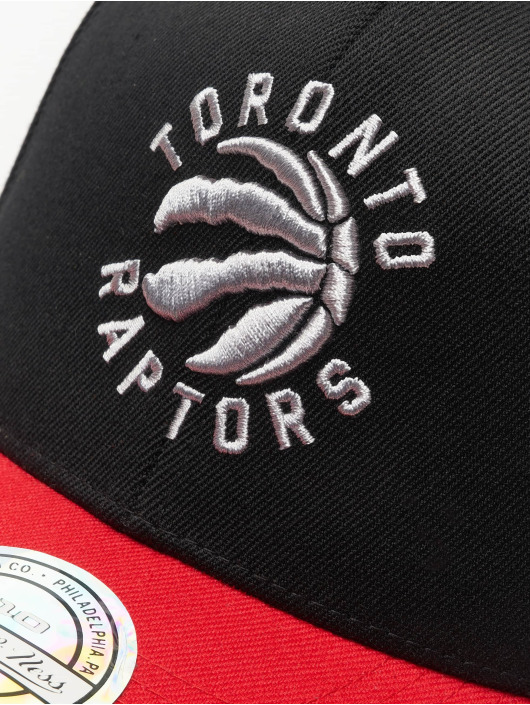 Mitchell & Ness Snapback Caps NBA Toronto Raptors 110 2 Tone čern