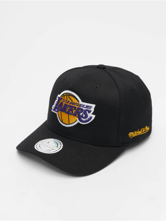 Mitchell & Ness Snapback Caps NBA LA Lakers 110 Curved Eazy čern