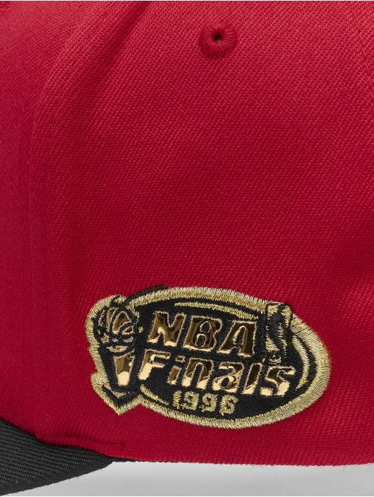 Mitchell & Ness Snapback Caps NBA Presto Chicago Bulls červený