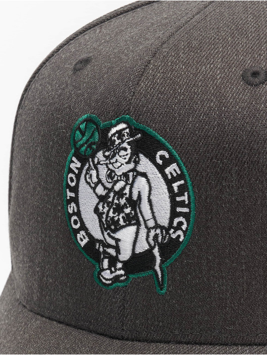 Mitchell & Ness Snapback Caps NBA Boston Celtics Team Pop šedá
