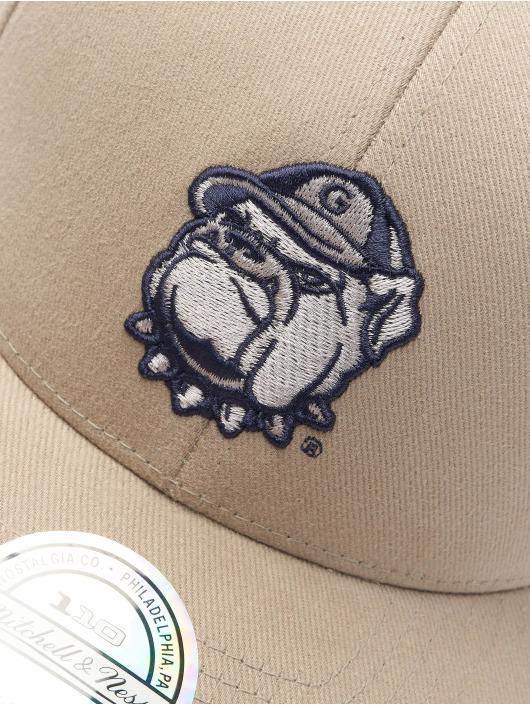 Mitchell & Ness Snapback Caps NCAA Snapback Low Pro Team Logo beige