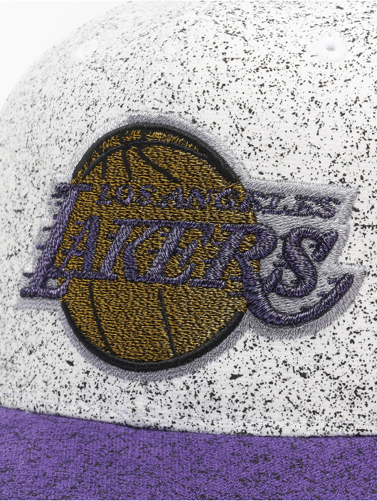 Mitchell & Ness Snapback Caps No Rest La Lakers bialy