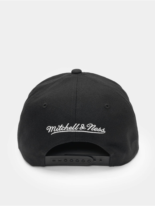 Mitchell & Ness Snapback Caps Front Post Chicago Bulls bialy