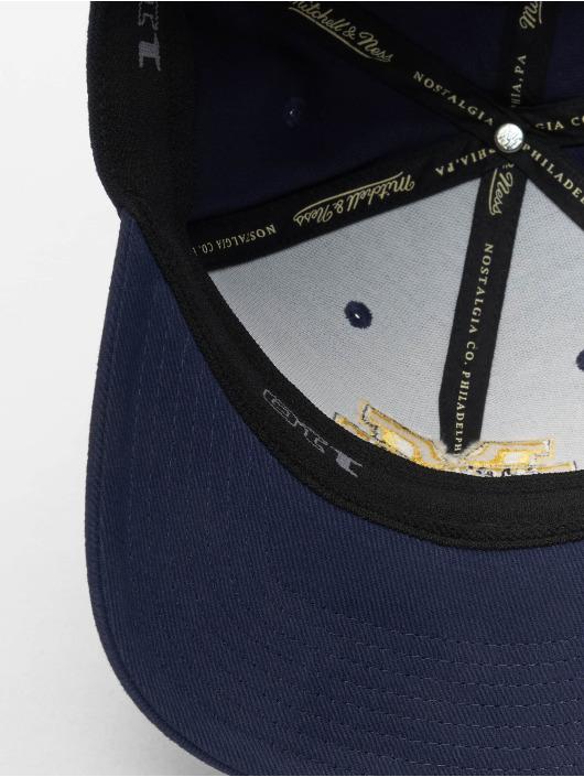 Mitchell & Ness Snapback Caps NCAA blå