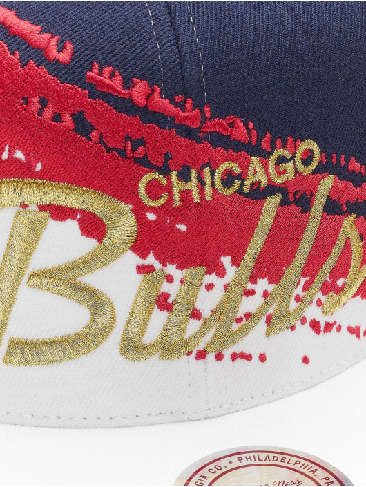 Mitchell & Ness Snapback Caps Independence Chicago Bulls blå