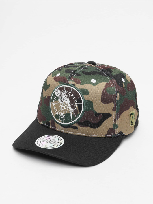 Mitchell & Ness Snapback Caps Mesh Camo Boston Celtics camouflage