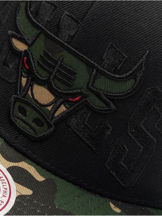 Mitchell & Ness Snapback Caps Woodland Chicago Bulls Blind czarny
