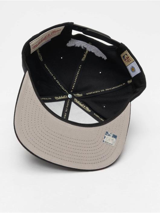 Mitchell & Ness Snapback Caps NBA Golden State Warriors Wool Solid czarny