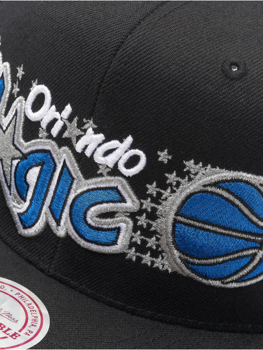 Mitchell & Ness Snapback Caps NBA Orlando Magic Wool Solid czarny