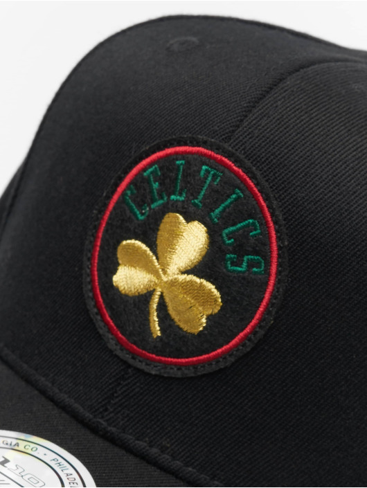 Mitchell & Ness Snapback Caps NBA Boston Celtics Luxe 110 czarny