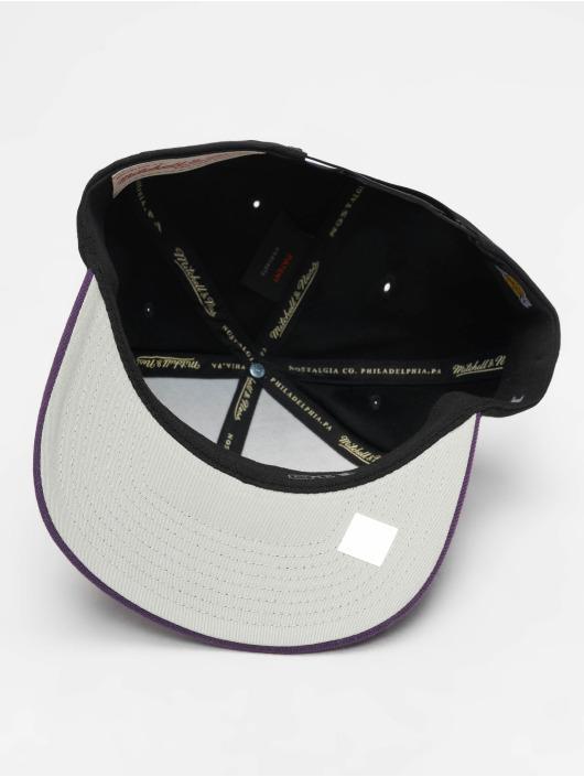 Mitchell & Ness Snapback Caps NBA LA Lakers 110 2 Tone czarny