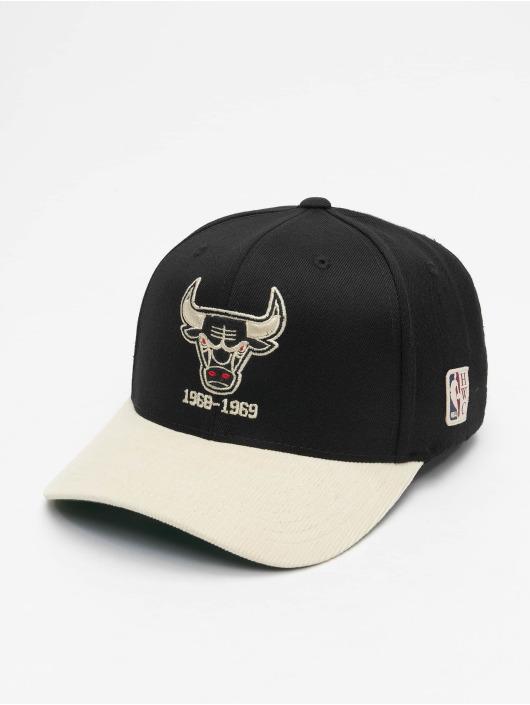 Mitchell & Ness Snapback Caps Chicago Bulls HWC Cord czarny