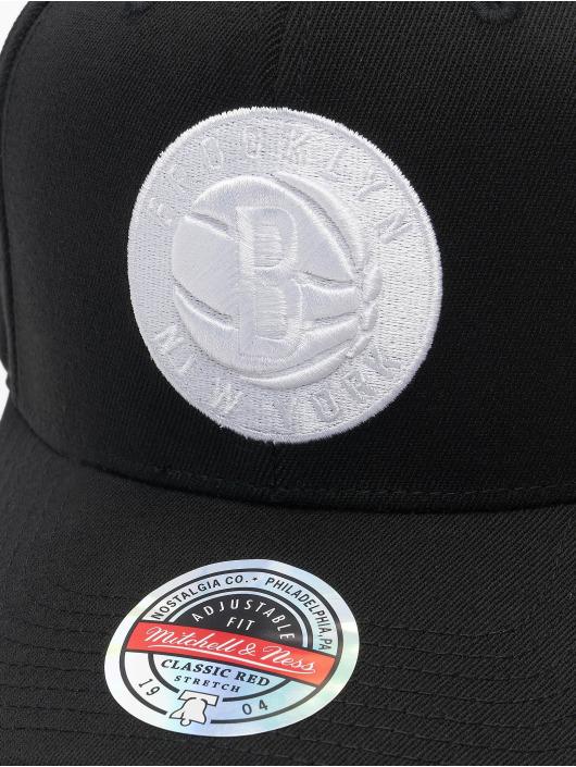 Mitchell & Ness Snapback Caps Duotone Redline Brooklyn Nets czarny