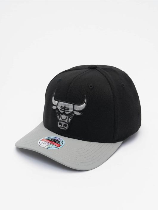 Mitchell & Ness Snapback Caps Shadow Redline Chicago Bulls czarny