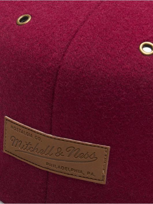 Mitchell & Ness Snapback Caps Prime OB czerwony