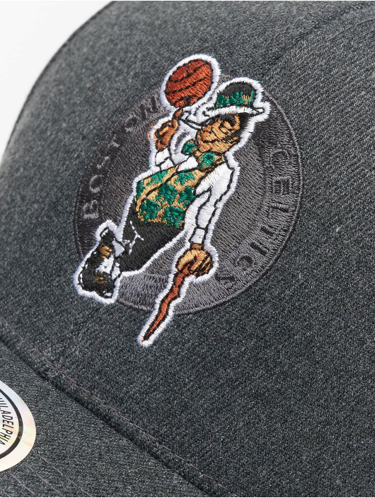 Mitchell & Ness Snapback Caps NBA Boston Celtics grå