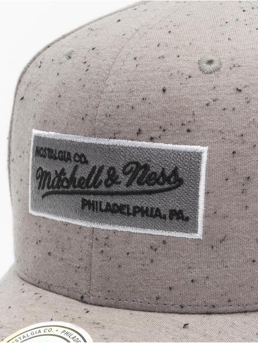 Mitchell & Ness Snapback Caps Own Brand Speck grå