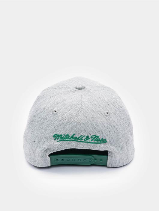Mitchell & Ness Snapback Caps Team Heather Boston Celtics Stretch grå