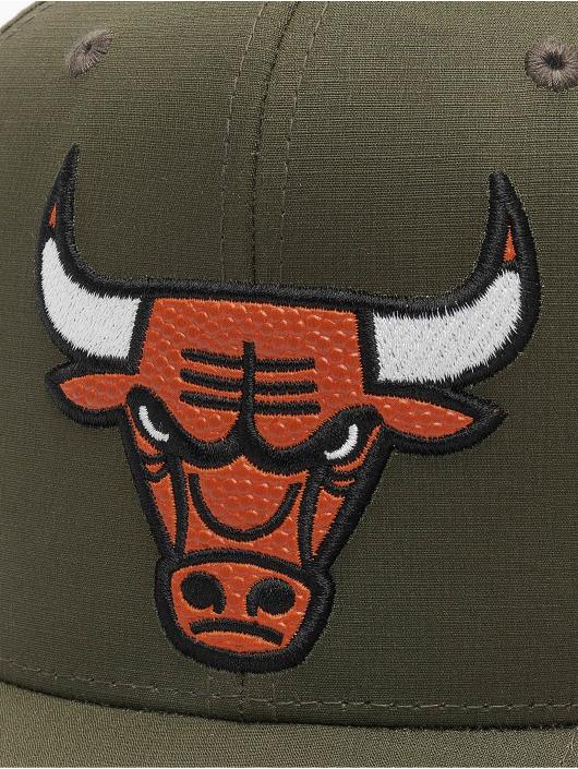 Mitchell & Ness Snapback Caps NBA Battle Chicago Bulls grøn
