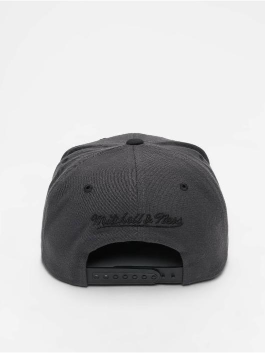 Mitchell & Ness Snapback Caps Branded Box Logo harmaa