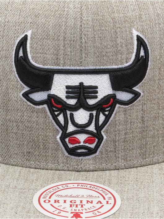 Mitchell & Ness Snapback Caps Team Heather HWC Chicago Bulls harmaa