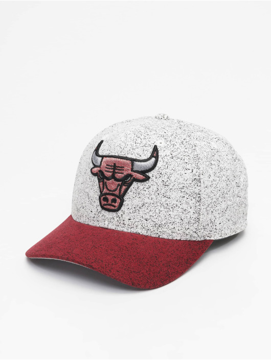 Mitchell & Ness Snapback Caps No Rest Chicago Bulls hvit